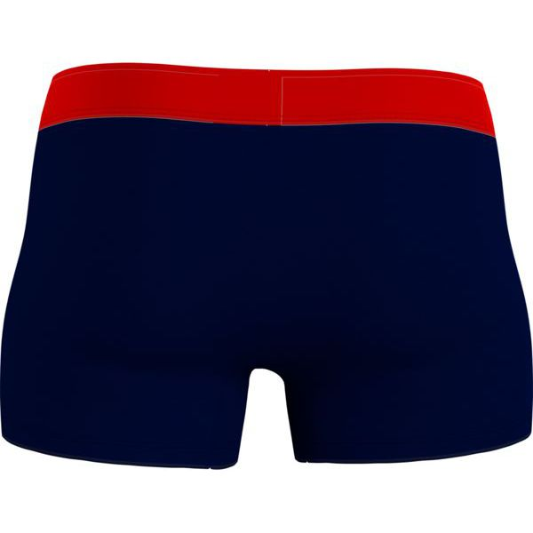5. Fitted boxers with logo at the waist Blue Tommy Hilfiger