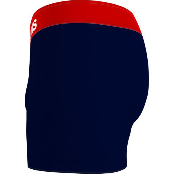 2. Fitted boxers with logo at the waist Blue Tommy Hilfiger