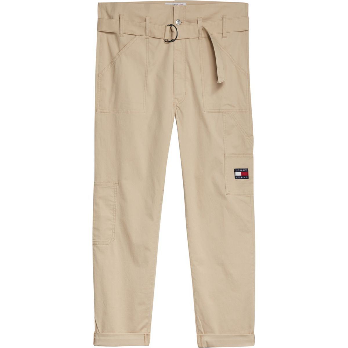 1. Cargo pants with pouch waist Beige Tommy Jeans