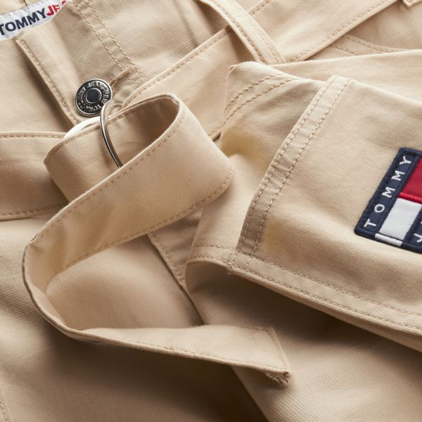 2. Cargo pants with pouch waist Beige Tommy Jeans