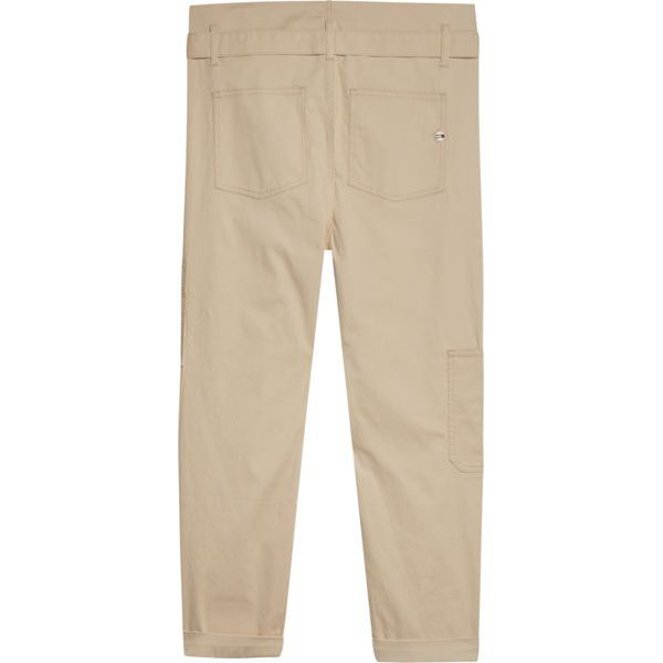 4. Cargo pants with pouch waist Beige Tommy Jeans
