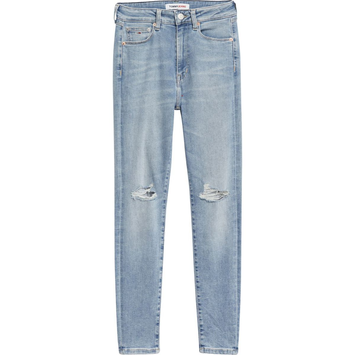 1. High-waisted super skinny fit Sylvia jeans Denim Tommy Jeans