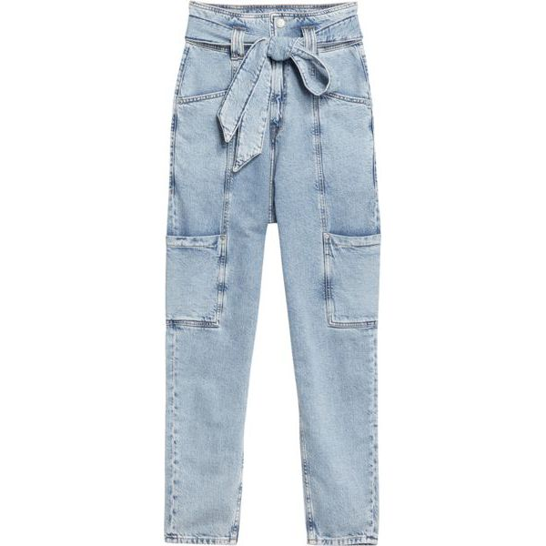 1. Tapered mom fit jeans with a very high waist bag Denim Tommy Jeans