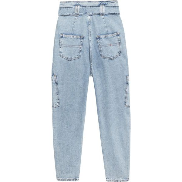 2. Tapered mom fit jeans with a very high waist bag Denim Tommy Jeans
