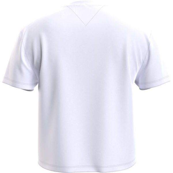 4. Basic T-shirt with TJ logo White Tommy Jeans