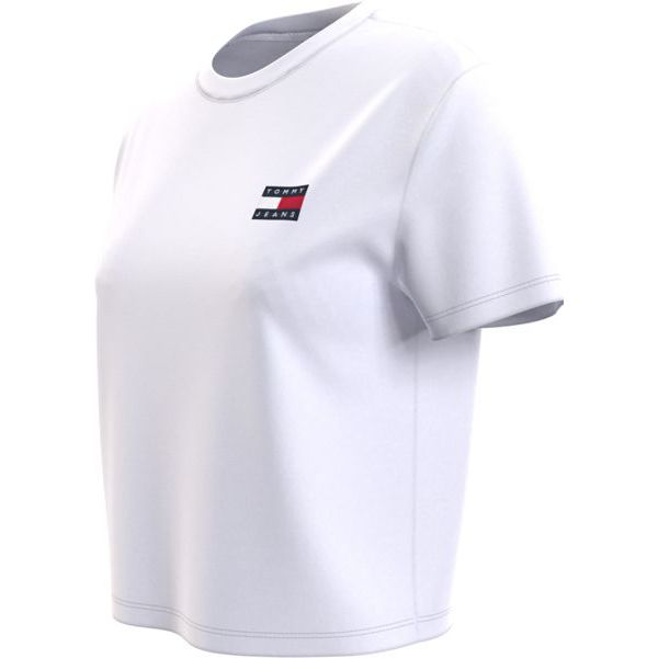 8. Basic T-shirt with TJ logo White Tommy Jeans