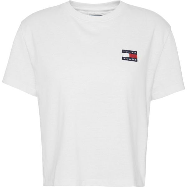 1. Basic T-shirt with TJ logo White Tommy Jeans