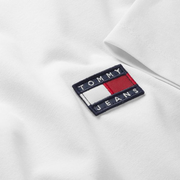7. Basic T-shirt with TJ logo White Tommy Jeans
