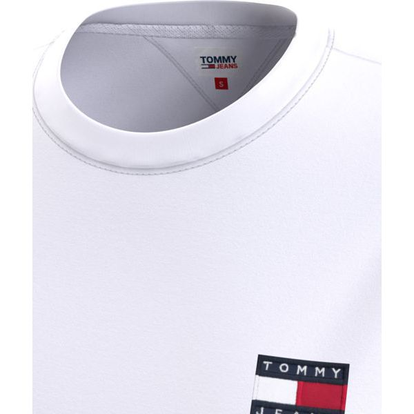 6. Basic T-shirt with TJ logo White Tommy Jeans