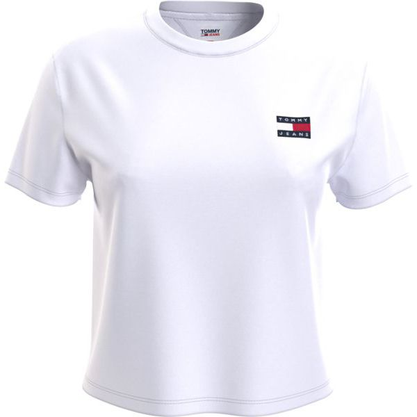 5. Basic T-shirt with TJ logo White Tommy Jeans
