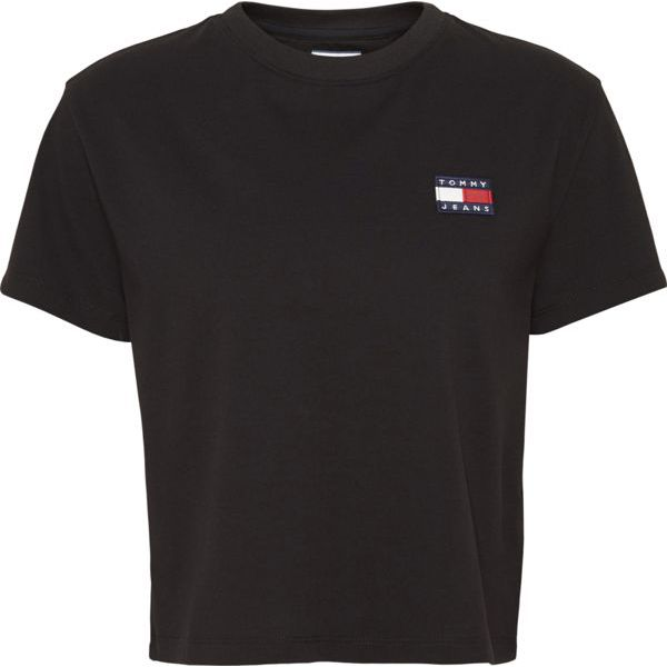 8. Basic T-shirt with TJ logo Black Tommy Jeans